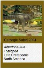 Wild Safari Allosaurus